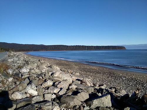 Bruce Bay on the wild West Coast