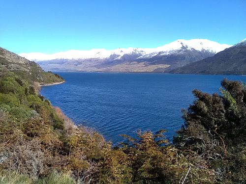 Lake Wanaka from State Highway 6