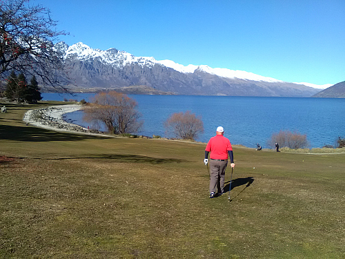 Queenstown Golf Club at Kelvin Heights