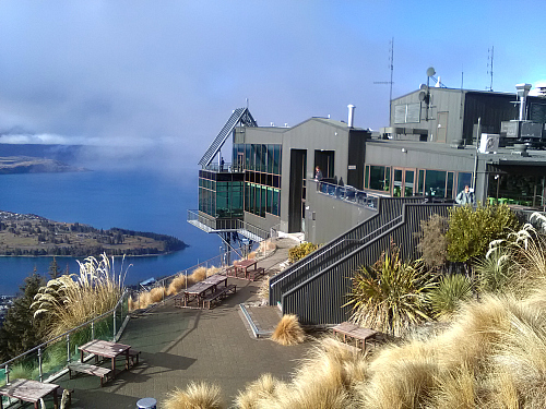 The Skyline Gondola complex on Bob's Peak Queenstown is a must, with stunning views, restaurant and cafe, and thrilling luge rides.