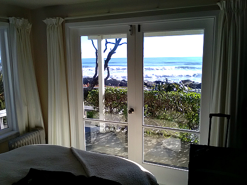 Stunning views from Wave Watchers bedroom