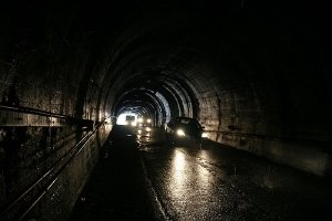 The Homer Tunnel - picture courtesy Fear Tec