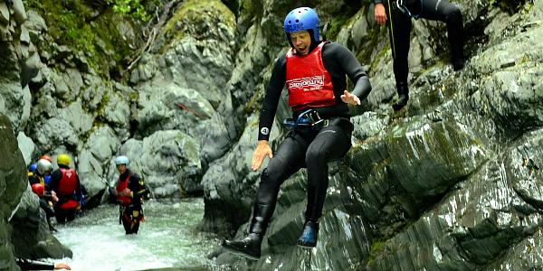 Haka Tours canyoning