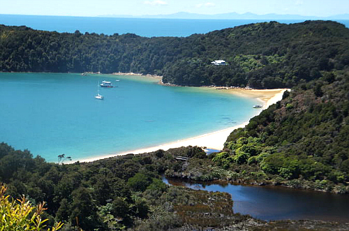 The Anchorage in the Abel Tasman National Park