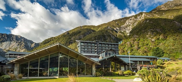 The Hermitage Mt Cook - we thank them for use of this image