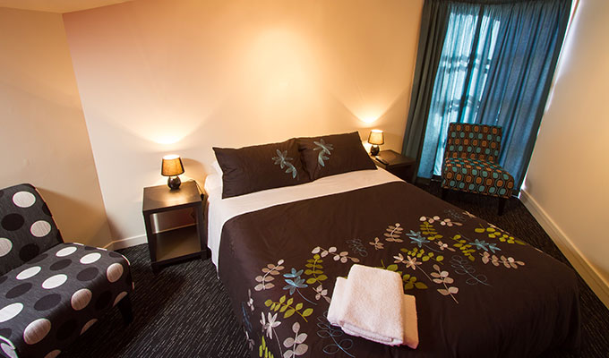 A private room at Haka Lodge Queenstown