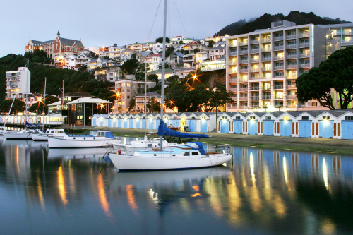 The Copthorne Oriental Bay is a great place to stay