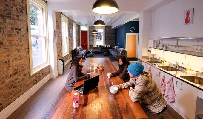 Haka Lodge Auckland kitchen