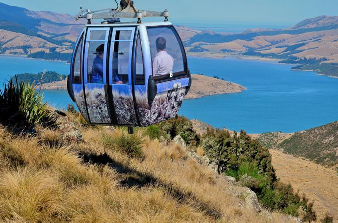 Stunning views on the Christchurch Gondola