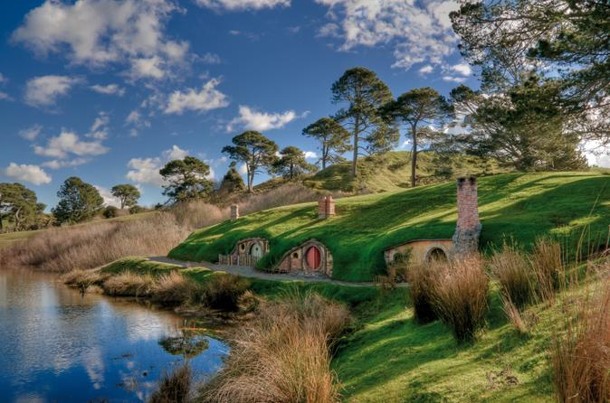 Come and see the Hobbiton movie set. A must for all LOTR fans