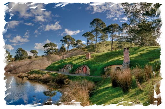 The Hobbiton Movie Set