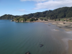 The view from the Abel Tasman memorial