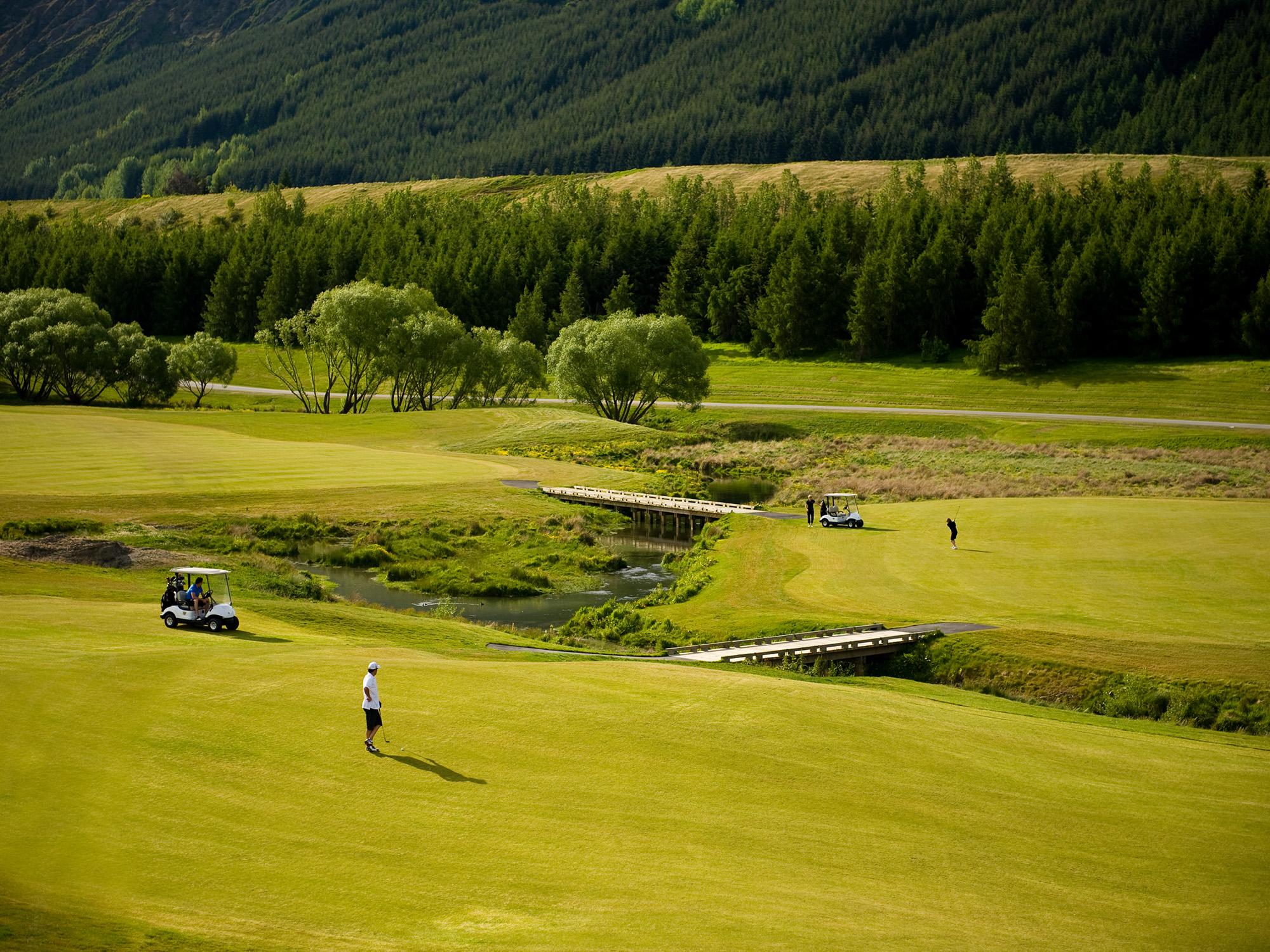 Millbrook golf. Image courtesy Millbrook