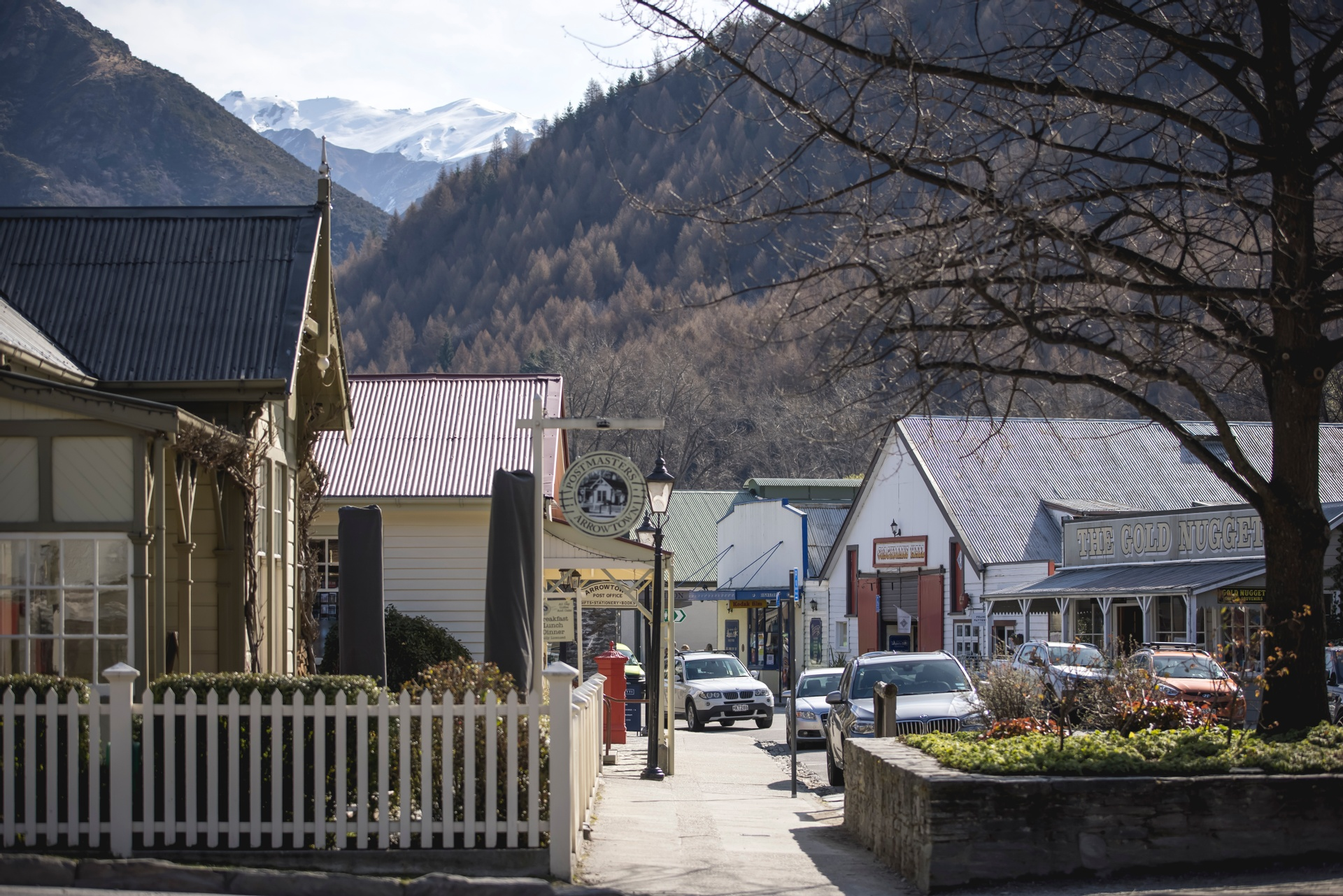 Historic Arrowtown near Queenstown. Picture courtesy Miles Holden and TNZ