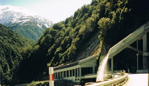 Candys Bridge on Arthur's Pass.