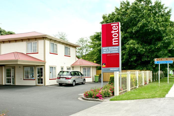 Auckland's Best Western BK's Pioneer Motor lodge