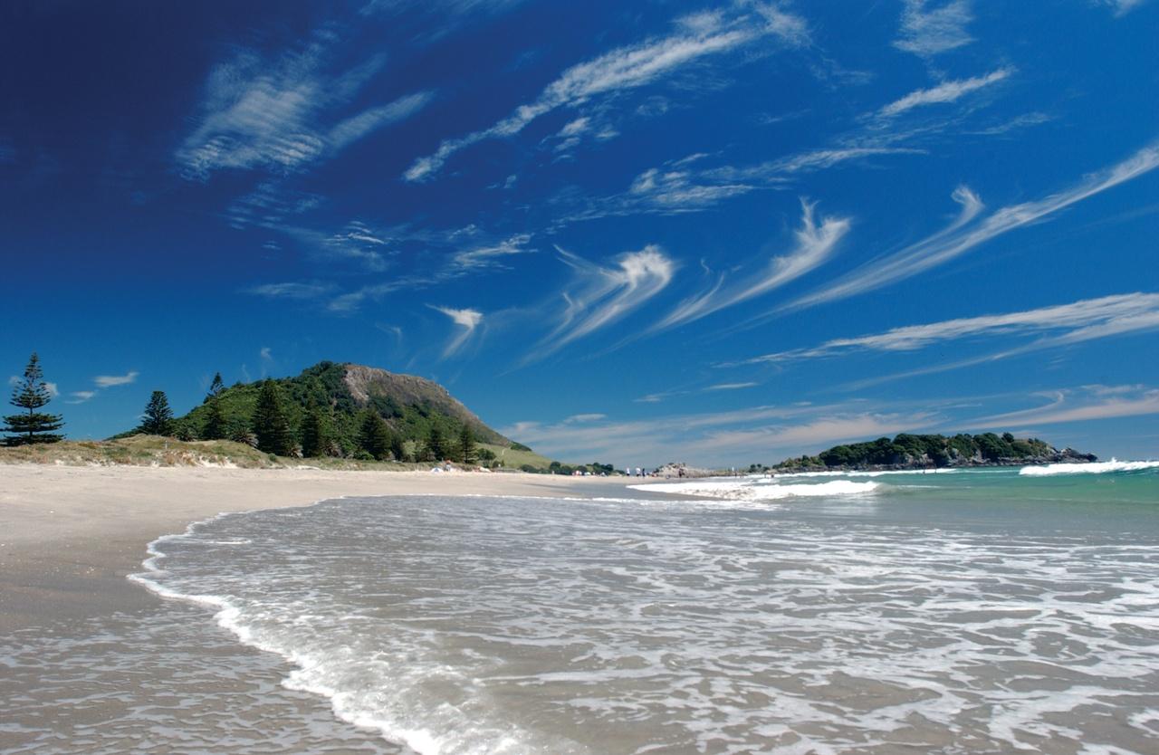 Main Beach Mt Maunganui - picture courtesy Bay of Plenty Tourism
