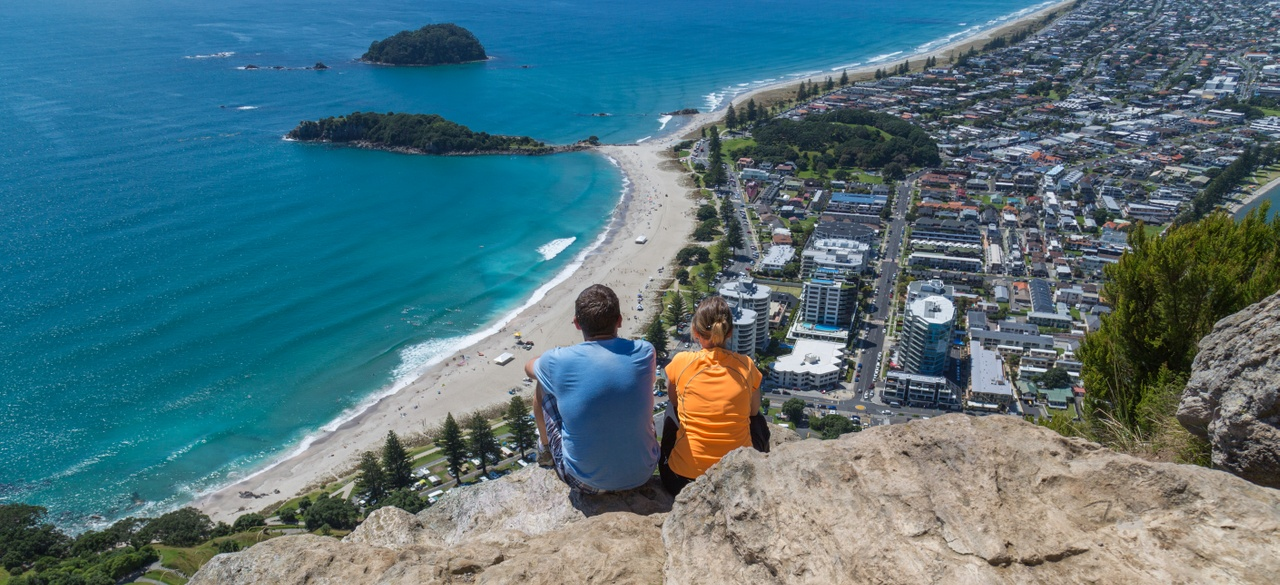 The view from the Mount, Mt Maunganui