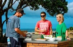 Beachside BBQ in the Bay of Plenty