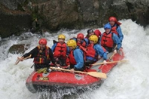 Rafting on the Wairoa River in the Bay of Plenty