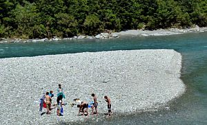 Blue Pools at Makarora pic courtesy lakewanaka.co.nz