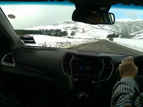 A winter wonderland north of Christchurch