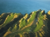 Golf at Cape Kidnappers, one of the World's finest courses