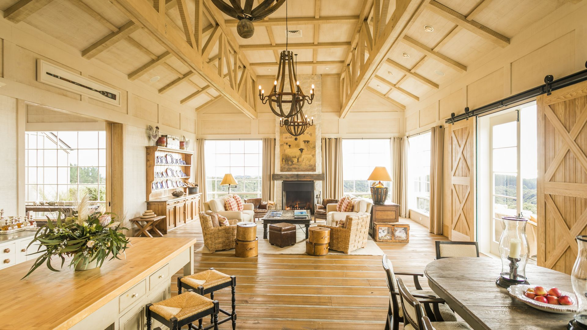 Owner's Cottage at Cape Kidnappers - pic courtesy Robertson Lodges