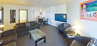 A Deluxe 2 Bedroom suite at Pavilions