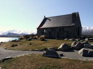 The much photographed Church of the Good Shepherd at Lake Tekapo