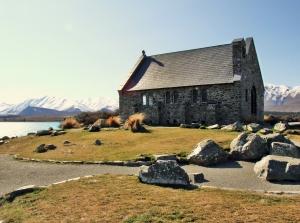 Lake Tekapo's Church of the Good Shepherd