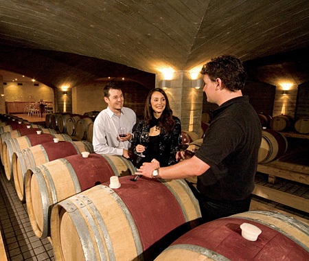 Classic New Zealand Wine Trail Craggy Range Wine Cellar Image Courtesy Hawkes Bay Inc