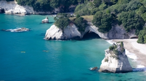 The stunning Cathedral Cove - image courtesy Tourism Coromandel