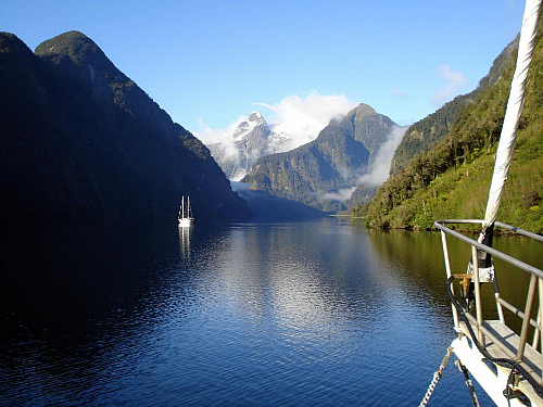The Hall Arm, Doubtful Sound - pic courtesy fiordland.org.nz