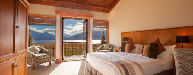 Luxury accommodation at Fiordland Lodge - pic courtesy Fiordland Lodge