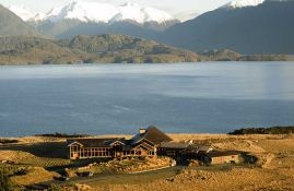 What a setting. Fiordland lodge