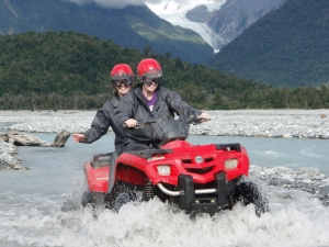Quad biking at Franz Josef