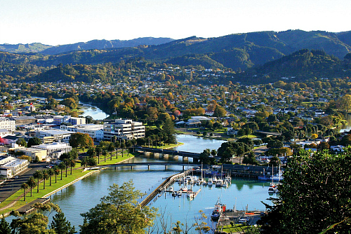 The beautiful city of Gisborne - pic courtesy Ray Sheldrake