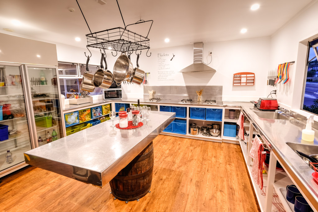 Everything that you need to cook up a feast - the kitchen at Haka Lodge Taupo