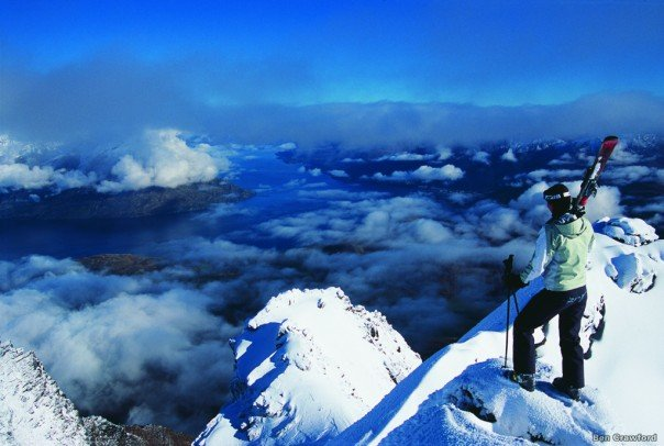 Great views from The Remarkables