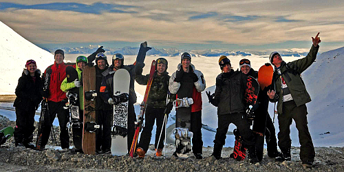 Epic fun on the 7 Day South Island Snow Safari Tour