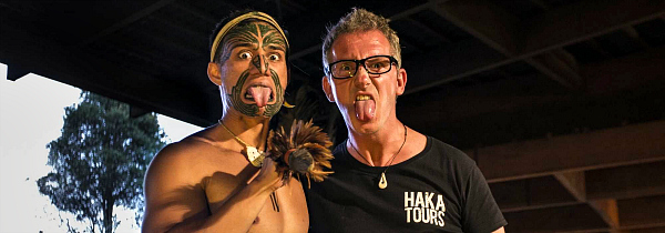 Getting friendly with the locals on a Haka Tour