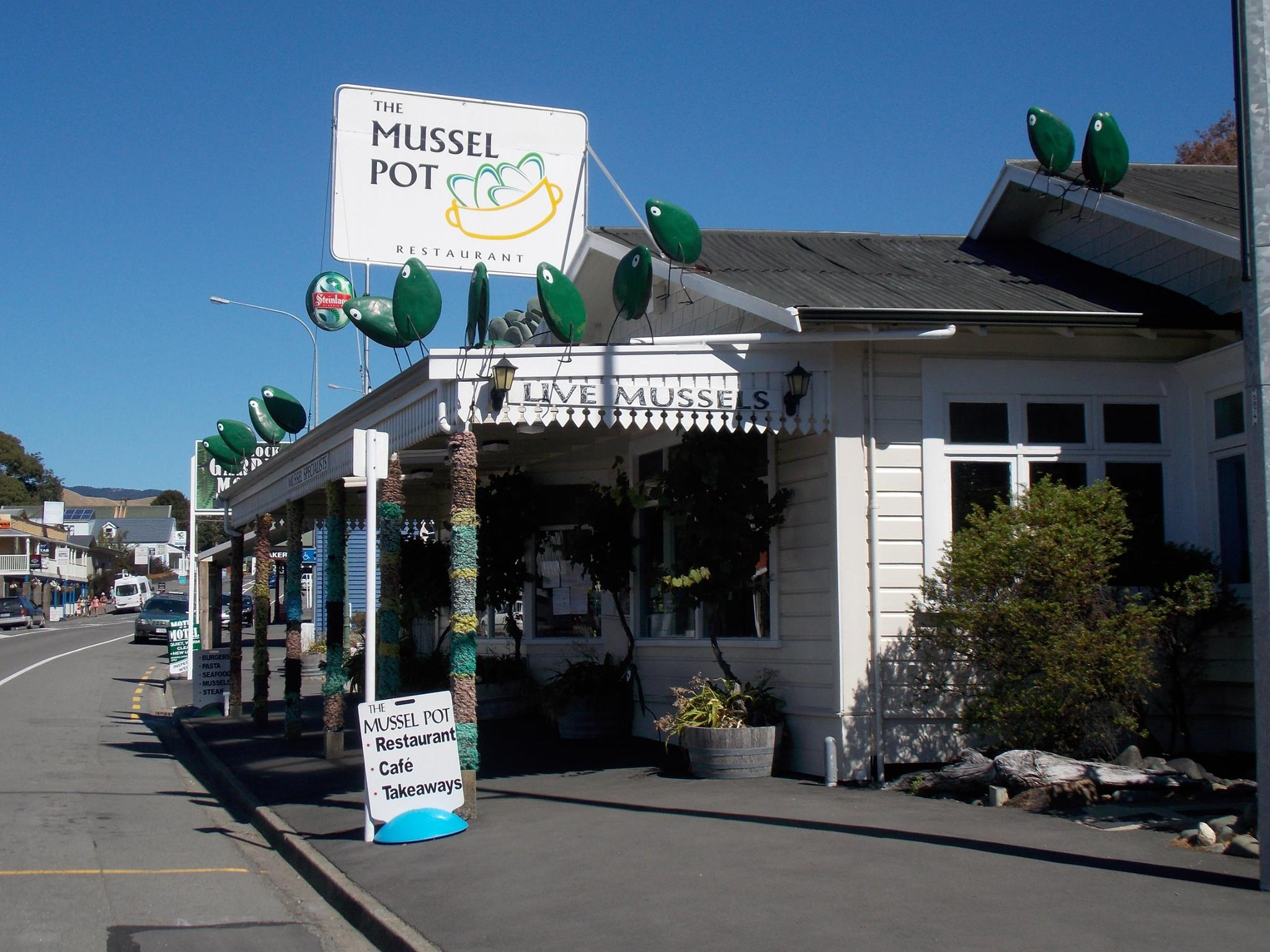 The Mussel Pot at Havelock. Picture courtesy The Mussel Pot