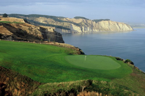 The stunning Cape Kidnappers
