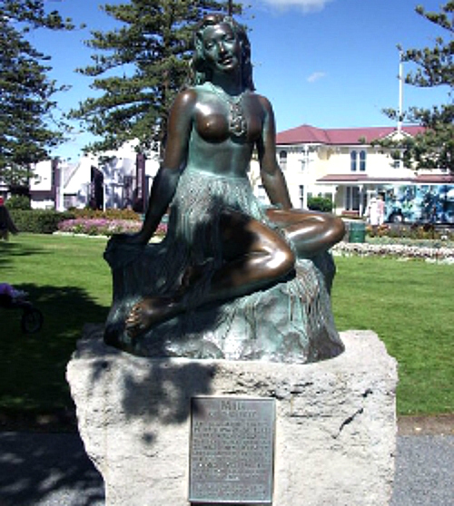 Pania Of The Reef, Napier