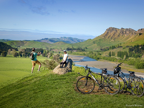 Te Mata peak in Hawke's Bay - pic courtesy Richard Brimer
