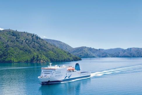The ferry Kaitaki