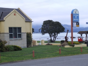 The Anchor Inn at Kaikoura, a great place to stay.