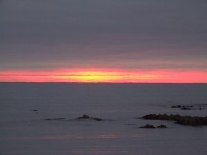 A beautiful Kaikoura sunrise
