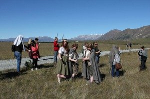 Fun at Pelennor Fields - image courtesy Red Carpet Tours